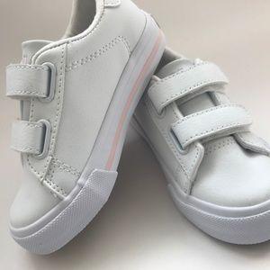NWT White/Pink Easten II EZ Sneaker Size 7